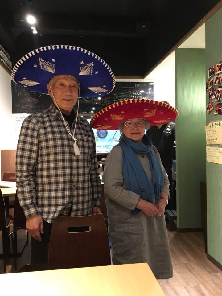 メキシコ風 私87歳、妻85歳 _e0083820_13300707.jpg