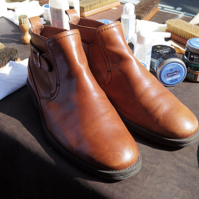 SHOE CARE WORK SHOP&LUNCH_b0058021_22015011.jpg