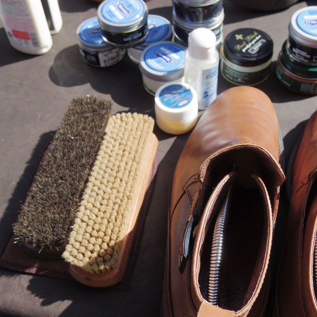 SHOE CARE WORK SHOP&LUNCH_b0058021_22015039.jpg