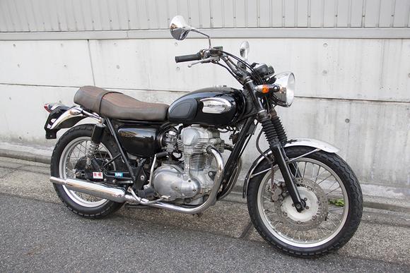FOR SALE!!!  走行4200km KAWASAKI W650  ¥450,000_e0182444_19355255.jpg