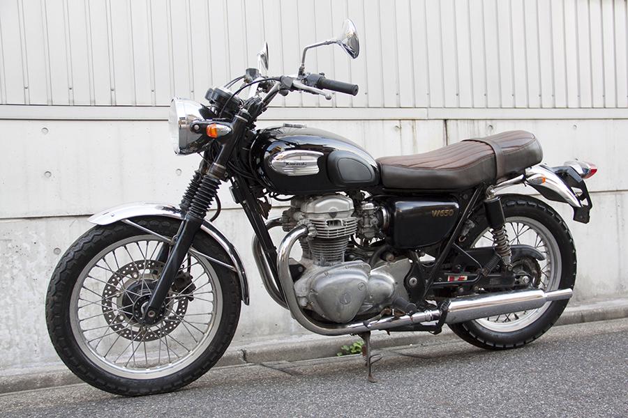 FOR SALE!!!  走行4200km KAWASAKI W650  ¥450,000_e0182444_19361550.jpg