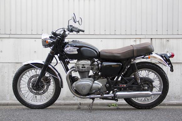 FOR SALE!!!  走行4200km KAWASAKI W650  ¥450,000_e0182444_19361929.jpg