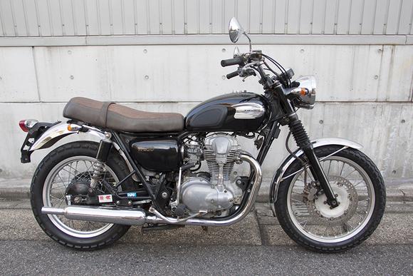 FOR SALE!!!  走行4200km KAWASAKI W650  ¥450,000_e0182444_1936193.jpg