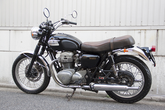 FOR SALE!!!  走行4200km KAWASAKI W650  ¥450,000_e0182444_19362543.jpg