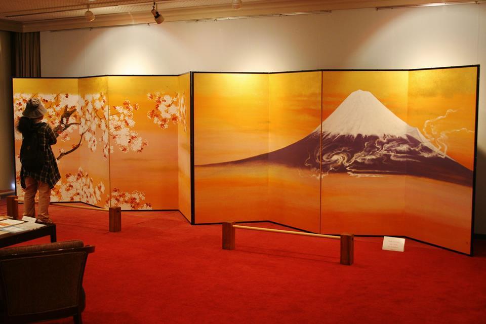 浜岡カントリー 森谷明子 日本画展_e0240147_16353624.jpg