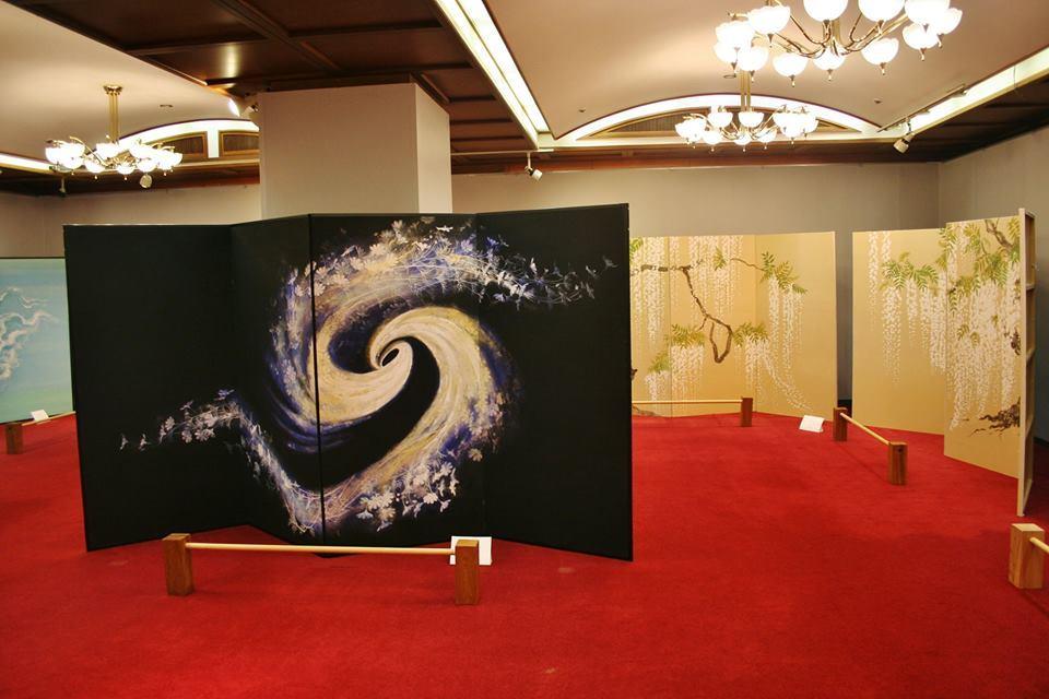 浜岡カントリー 森谷明子 日本画展_e0240147_16360477.jpg