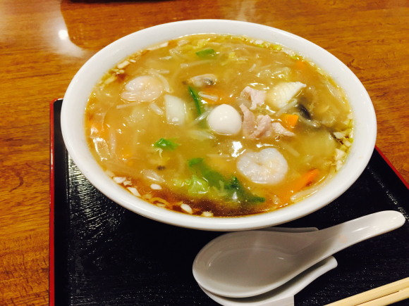 あんかけ焼きそばよりも広東麺が好き。_d0156358_19481861.jpg