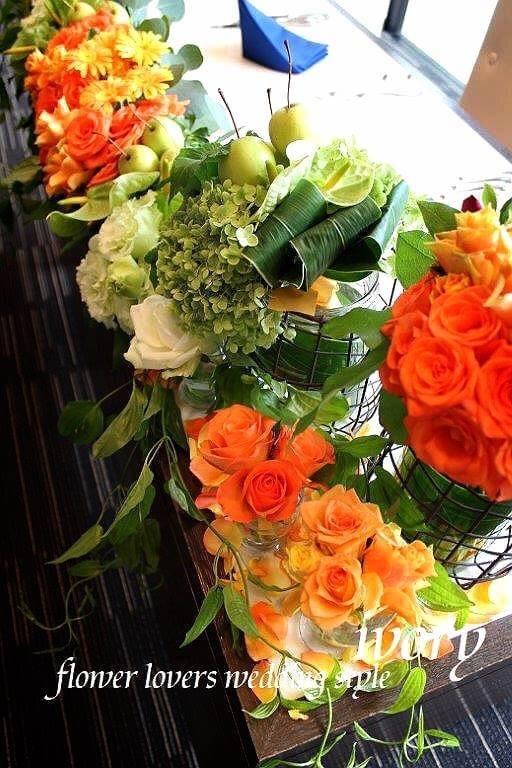 『連休中の婚礼から〜♬②』_b0094378_22562287.jpeg