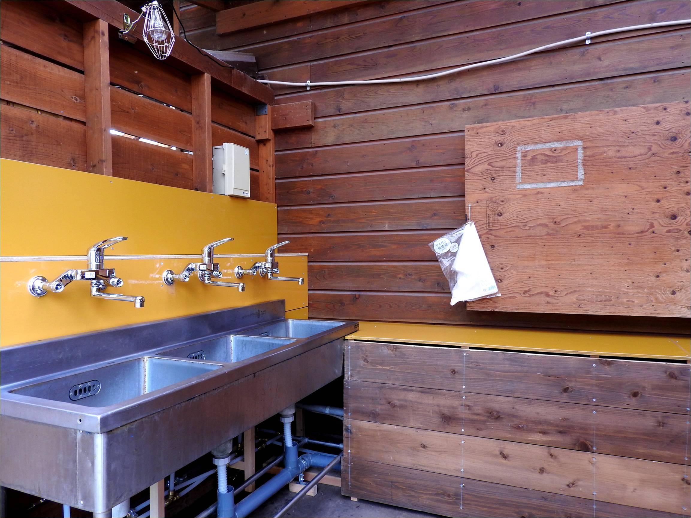 平日に宿泊する方へ:第二炊事棟リニューアル工事をしています_b0174425_15450736.jpg