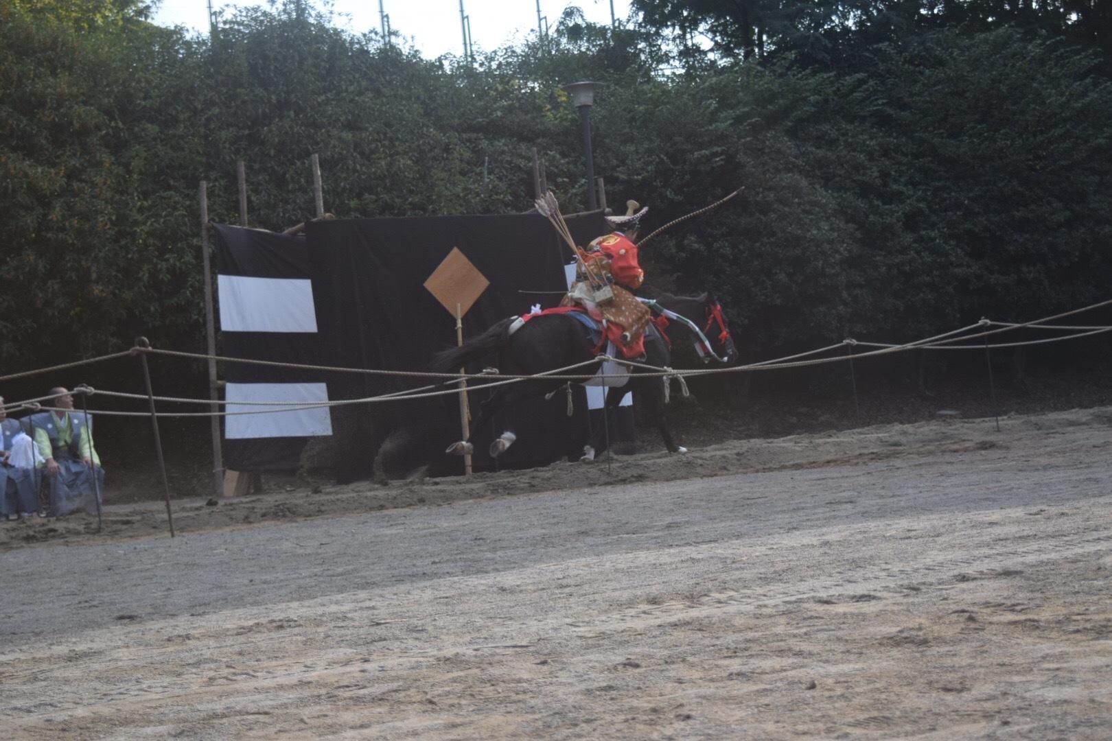 早稲田の流鏑馬。_c0160745_08335482.jpg
