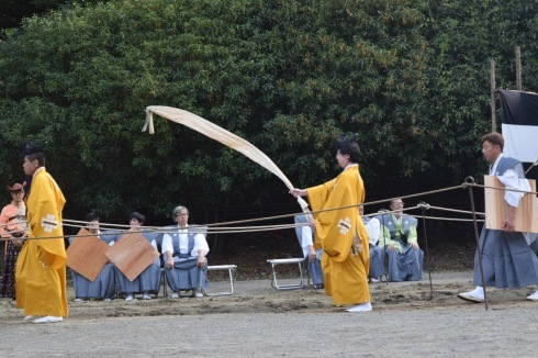 早稲田の流鏑馬。_c0160745_08343427.jpg