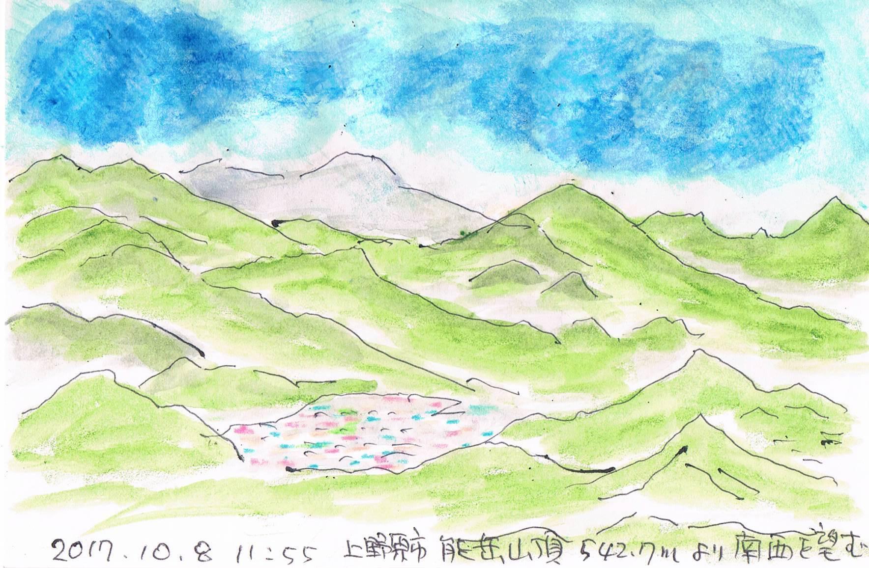 能岳よりの眺望_e0232277_10270713.jpg