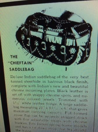 "THE \""CHIEFTAIN\"" SADDLEBAG ・リペア記_a0165898_10571191.jpg"