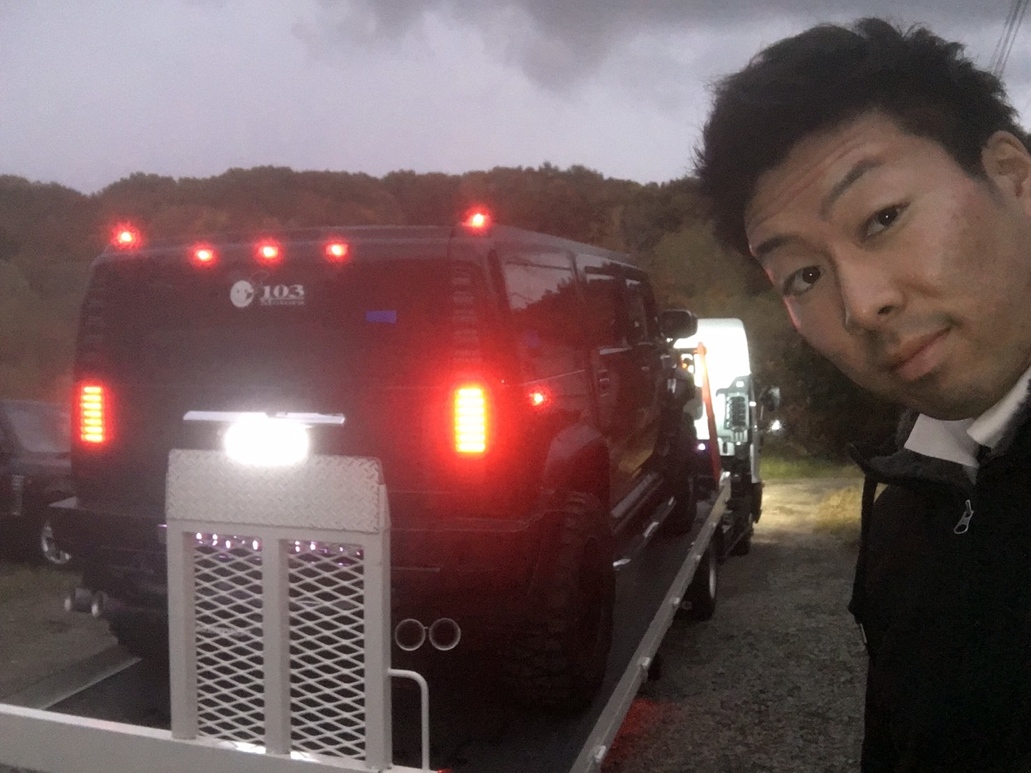 10月10日TOMMY BASE ともみブログ☆ハマー ランクル LX570_b0127002_11103008.jpg