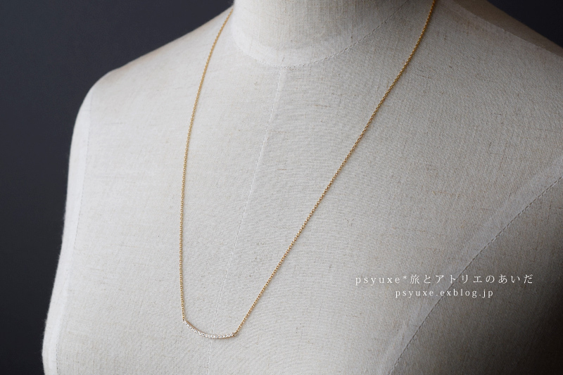 K10YG,K14GF, Melle Diamonds. Long Necklace 静岡県 T 様_e0131432_13011062.jpg