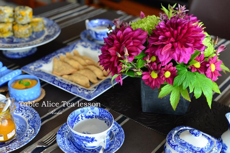 Table Alice ティーレッスン10月 _c0250634_11101734.jpg