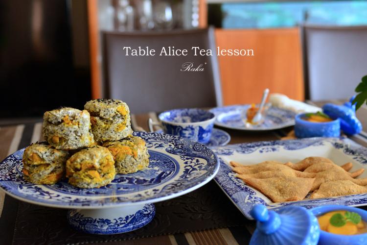 Table Alice ティーレッスン10月 _c0250634_11105986.jpg