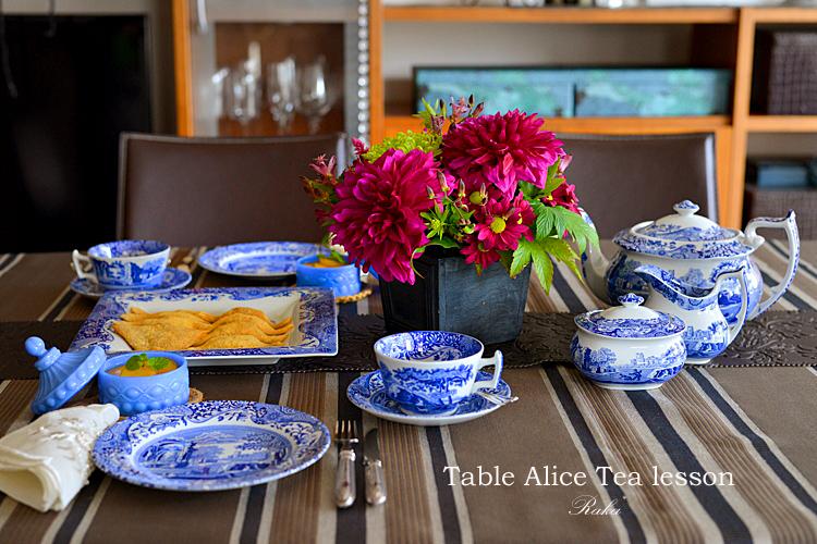 Table Alice ティーレッスン10月 _c0250634_1192675.jpg