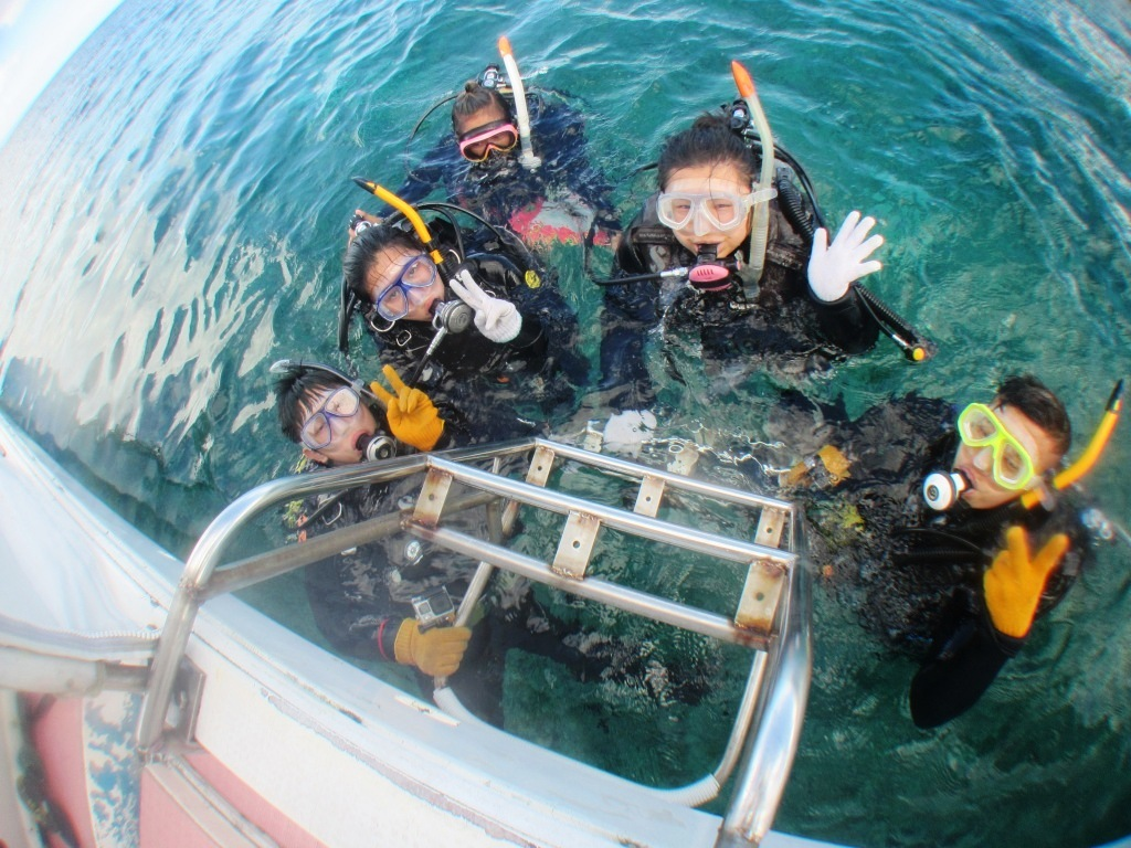 enjoy diving~(^^)♪_a0189838_16261519.jpg
