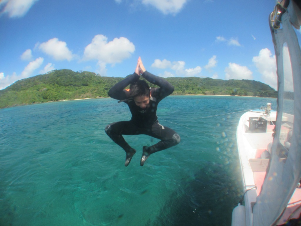 enjoy diving~(^^)♪_a0189838_16324984.jpg