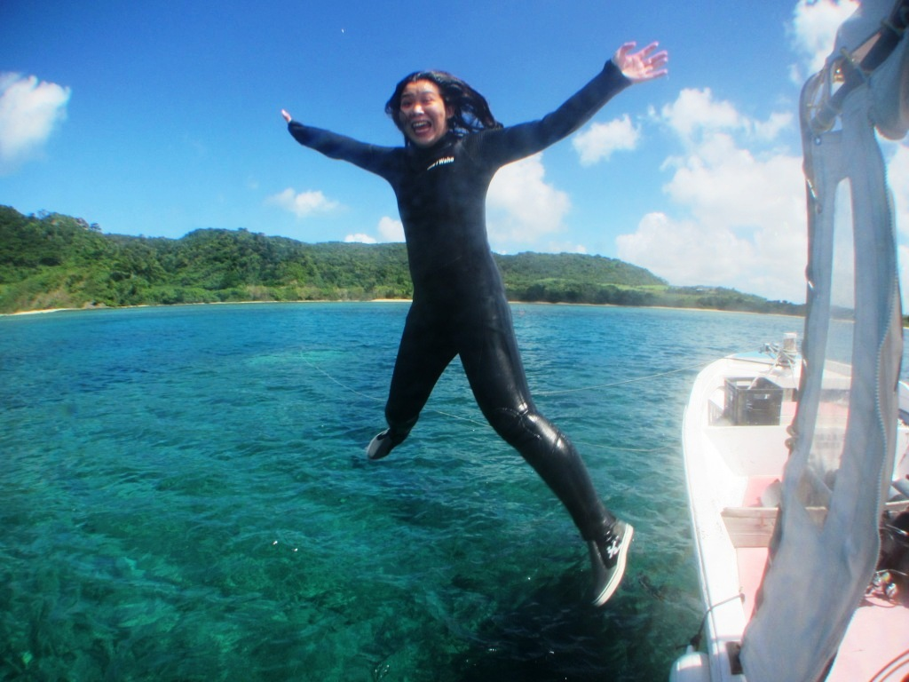 enjoy diving~(^^)♪_a0189838_16332950.jpg