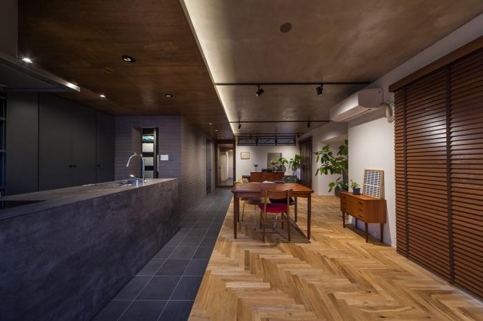 木質空間大賞 リノベエステイト BETON グレーの家 #2017.10_e0037548_15171071.jpg