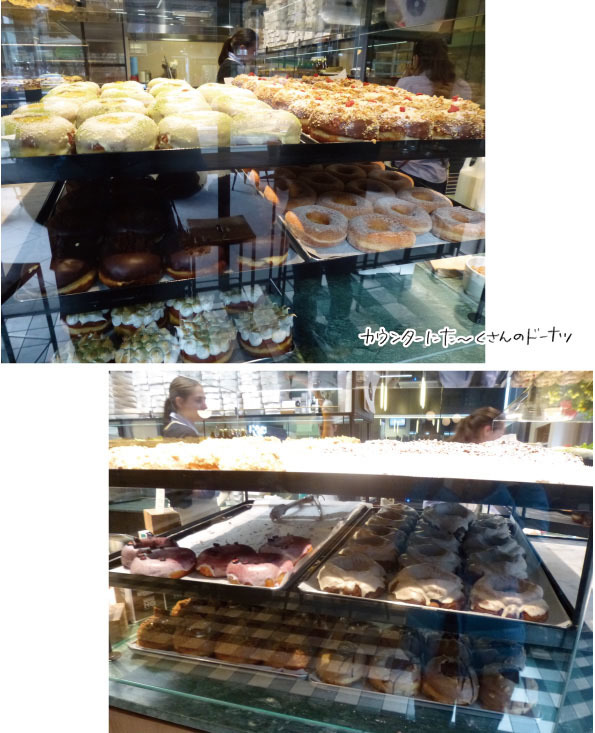 【メルボルンドーナツ旅:その1】DOUGHBOYS COFFEE+DOUGHNUTS【オフィス街の洗練されたドーナツ】_d0272182_19182571.jpg