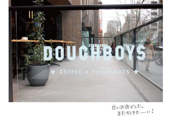 【メルボルンドーナツ旅:その1】DOUGHBOYS COFFEE+DOUGHNUTS【オフィス街の洗練されたドーナツ】_d0272182_19182814.jpg