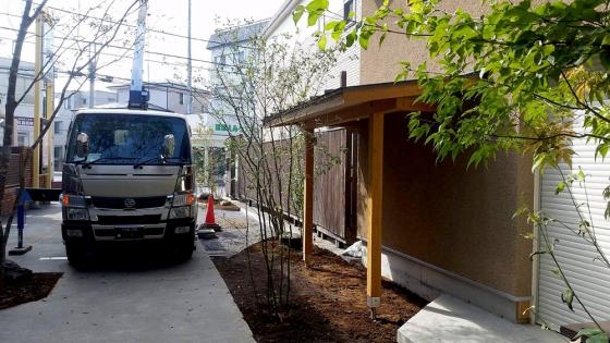 緑のある景色 | 新築工事始まります!!_d0080906_20482632.jpg
