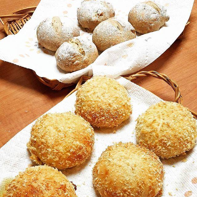 10月12日(木) カシューナッツと黒コショウのパン 焼きカレーパン_d0138307_21464272.jpg