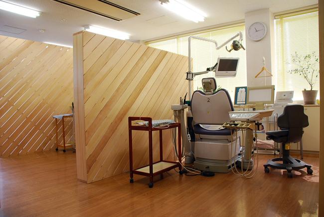 歯科の間仕切り/パーティション/歯科医院/岡山_c0225122_2249109.jpg