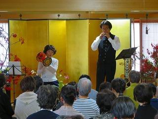 黒坂黒太郎・矢口周美ご夫妻のコンサート_e0030924_16470597.jpg