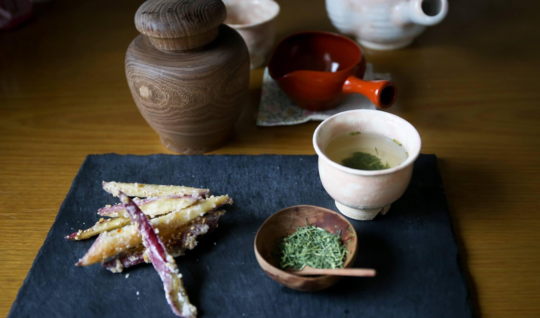 栗ご飯と芋けんぴ 秋は美味しい_d0034447_22131515.jpg