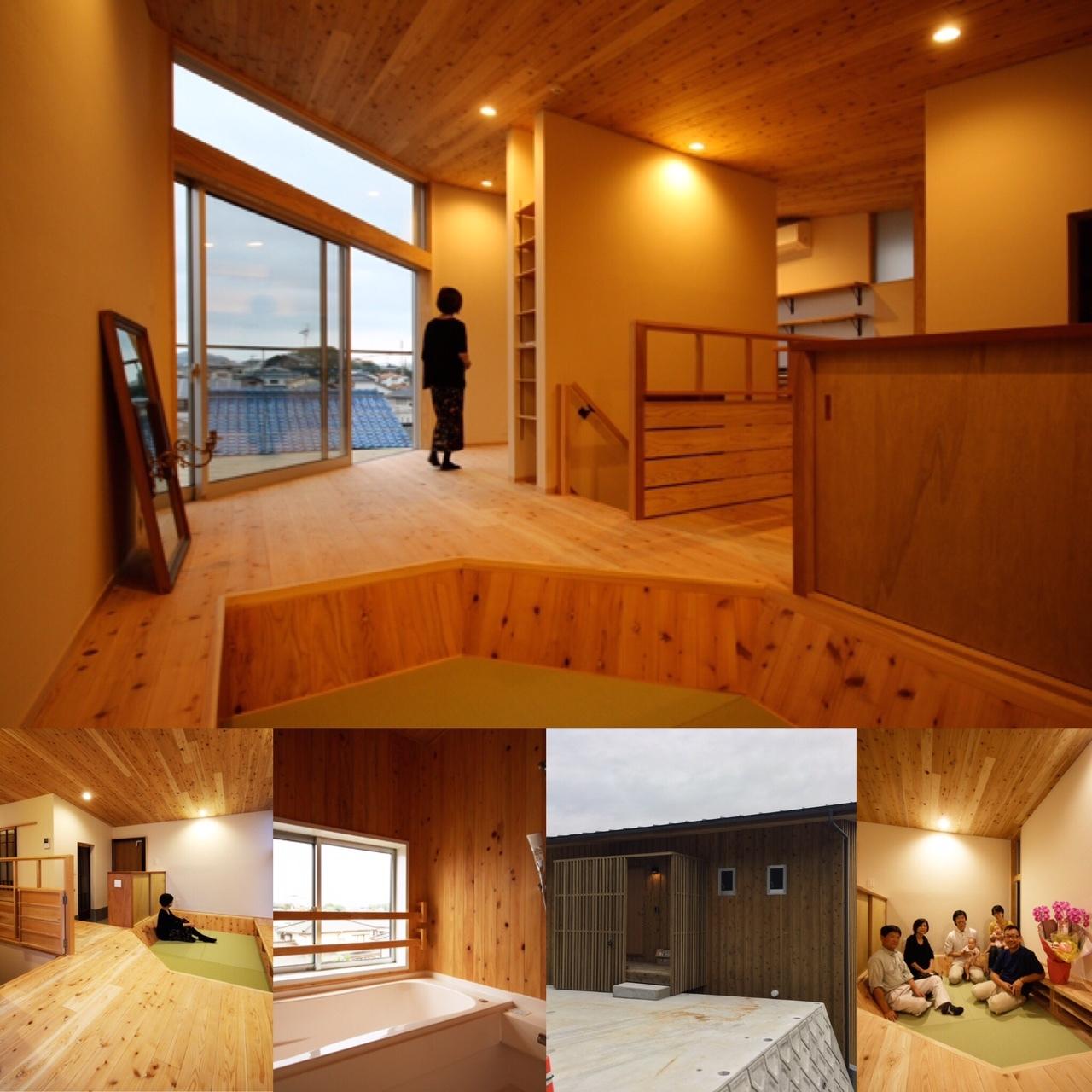 「みかん畑に建つ2階リビングの家」のスライドショーをupしました♪_e0029115_18393520.jpg
