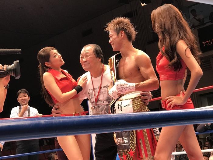 輪島ジム初のチャンピオン_a0019032_218357.jpg