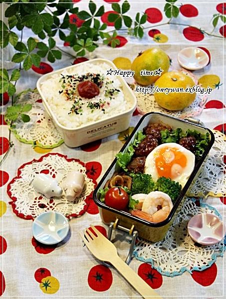 煮込みハンバーグ弁当と初IKEA♪_f0348032_18564119.jpg