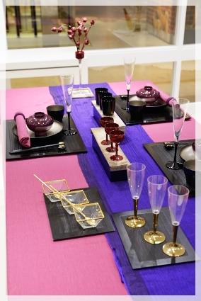 カラーで演出するテーブル・パープル♪ ~ブラッシュアップクラス_d0217944_11152350.jpg