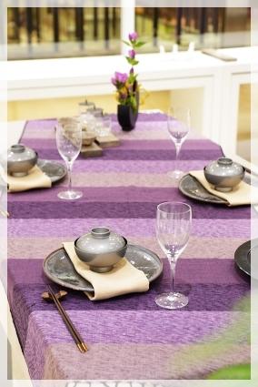 カラーで演出するテーブル・パープル♪ ~ブラッシュアップクラス_d0217944_11165349.jpg