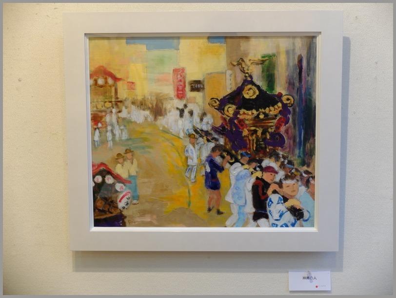 中島悦子 油彩画展に行く。_a0086270_19523509.jpg