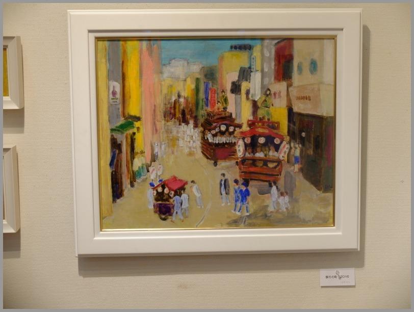 中島悦子 油彩画展に行く。_a0086270_19535641.jpg