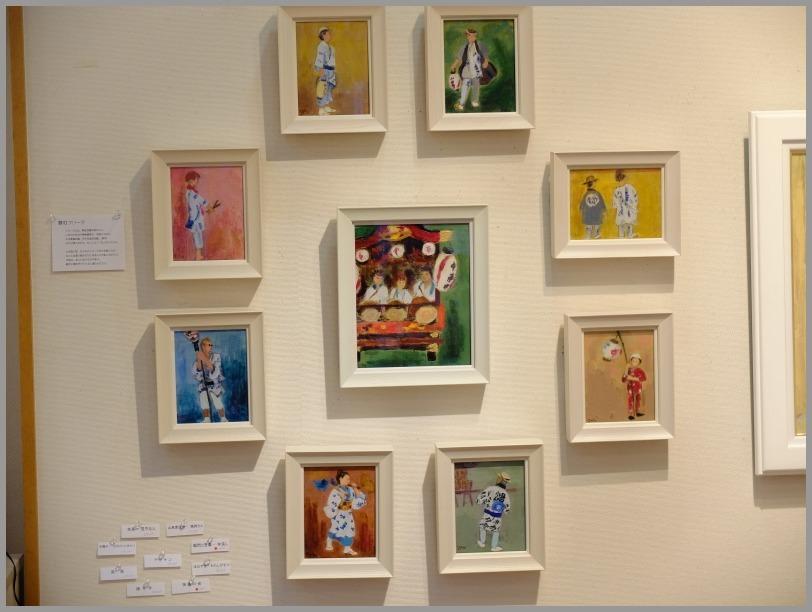 中島悦子 油彩画展に行く。_a0086270_19550148.jpg