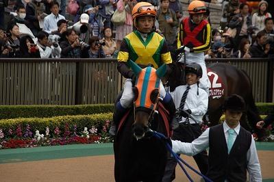 府中牝馬Sは、クロコスミアがGI馬3頭を振りきって逃げ切り重賞初制覇_b0015386_21332283.jpg