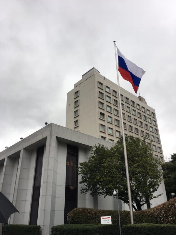 ロシア大使館公邸でのお茶会_c0195496_23320613.jpg