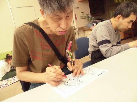 10/13 創作活動_a0154110_08431001.jpg