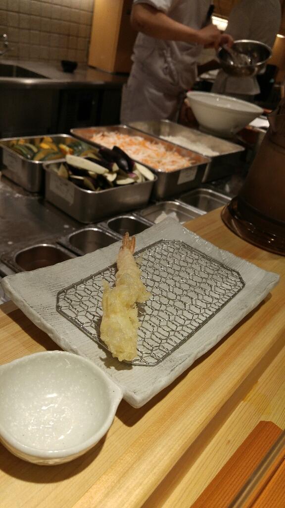 揚げたて天ぷら定食「まきの」_c0124528_16365009.jpg