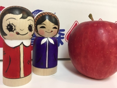 10月15日 つがるじるしのりんご/こけしぎふと2017_e0318040_15070662.jpg