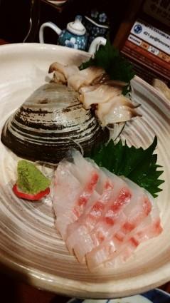 タロさと魚介系居酒屋外飲み「北野水産」・白菜ラーメン「幸来」_f0168392_21134357.jpg