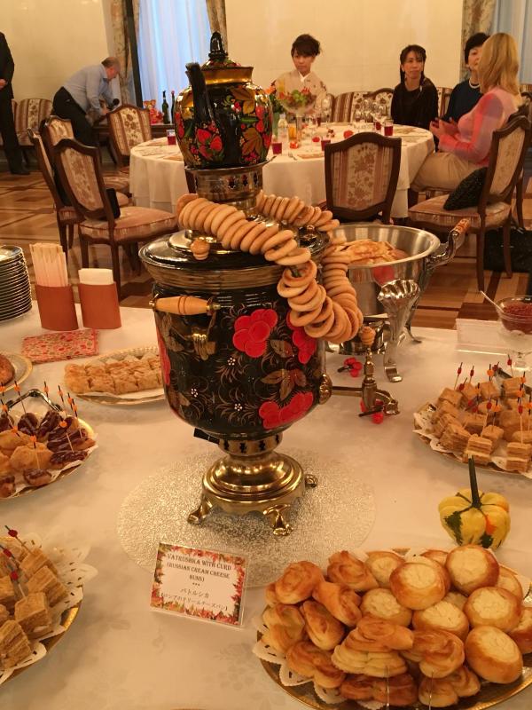 ロシア大使館公邸でのお茶会_c0195496_00363674.jpg
