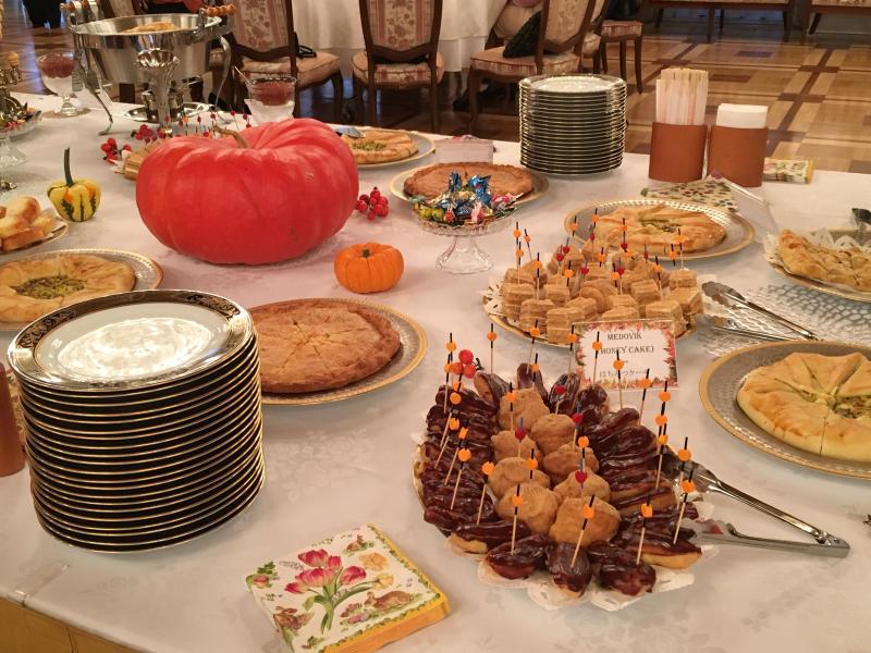 ロシア大使館公邸でのお茶会_c0195496_00363827.jpg