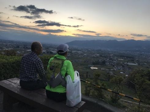 久しぶりの登山で山梨・甲州高尾山と棚横手_d0122797_11324083.jpg